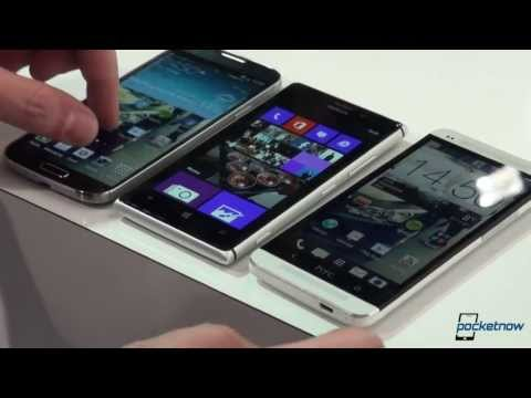 Nokia Lumia 925 vs Samsung Galaxy S 4 vs HTC One
