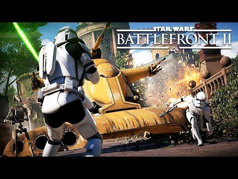 STAR WARS BATTLEFRONT 2 - HEROES & VILLAINS GAMEPLAY!! (Star Wars Battlefront 2 Multiplayer BETA)