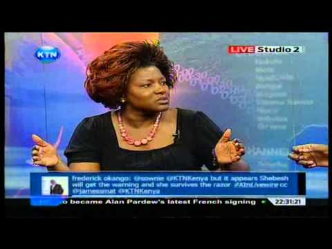 Live Wire : Rachel Shebesh And Ababu Namwamba video