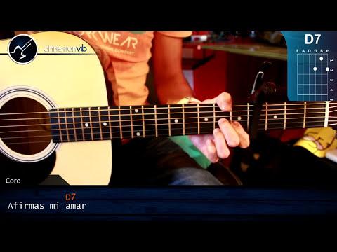 Como tocar Compartir de - Carla Morrison - en guitarra Acustica (HD) Tutorial