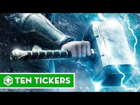 Top 10 nhân vật có thể nhấc búa Mjolnir | Ten Tickers No. 28 thumbnail