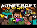 Minecraft Mod Showcase : MOB POWERS MOD!
