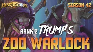 Trump's Zoo Warlock (Rank 2, Season 42, Live Stream)