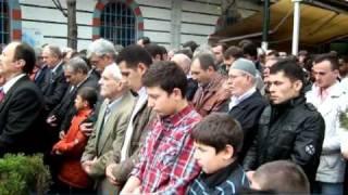 İsmet Yenivatan'ın cenazesi