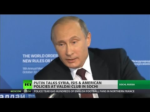 Putin: America is a bully and threat to stability