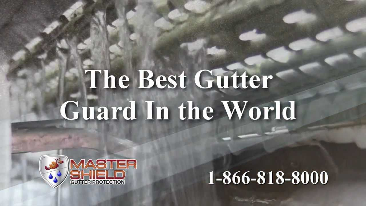 The Best Gutter Guard In The World Youtube