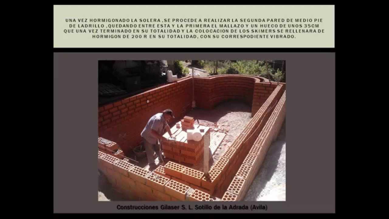 Construcci N Piscinas De Hormig N Paso A Paso Youtube