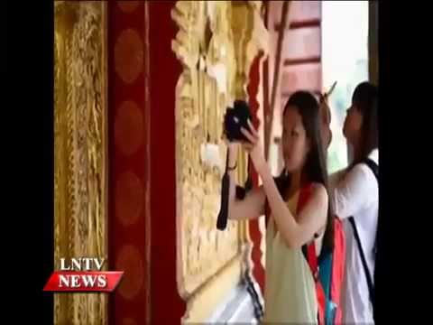 Lao NEWS on LNTV: Guangdong province is seeking to improve tourism cooperation with Laos.22/10/2014
