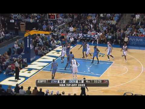 Ty Lawson 2009 Rookie Highlights HD (Half Season) Video