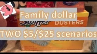 Family Dollar Deals $5/$25 ALL DIGITAL COUPONS
