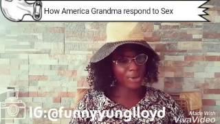 How Nigeria Grandma react to sex(Tunde n Grandma)