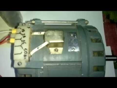 Подключение двигателя ДАСМ-