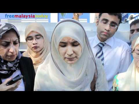 Izzah lodges report on SMS threats