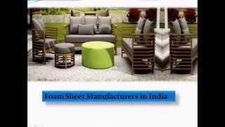 [Foam Companies & Factory in India] Video