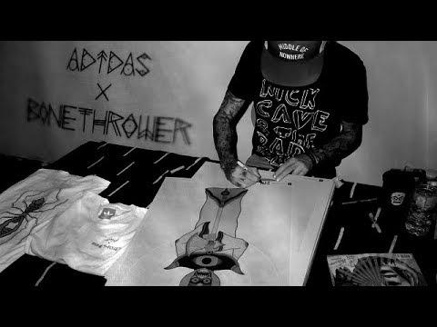 Adidas X Bonethrower - Release Party