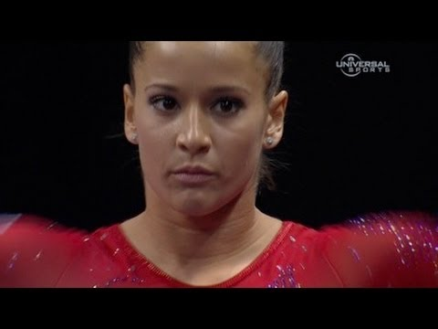 Alicia Sacramone returns to Visa Championship - night 1 routines