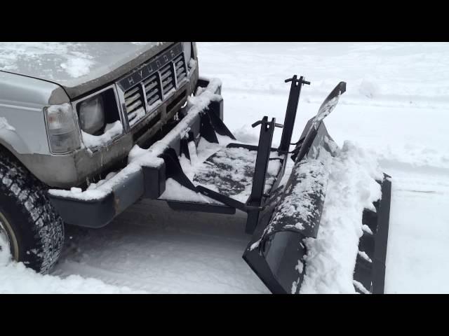 Снежные отвалы своими руками