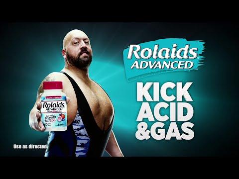 Big Show kicks acid and gas with Rolaids Advanced