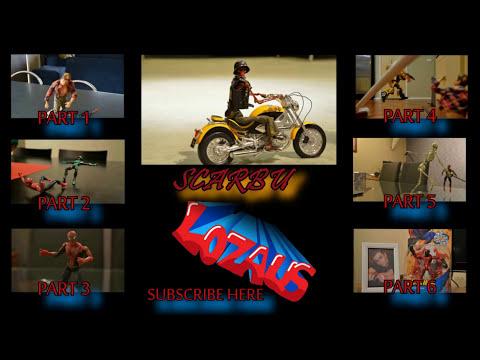SCARBU Part 2 STOP MOTION Action Video Trailer