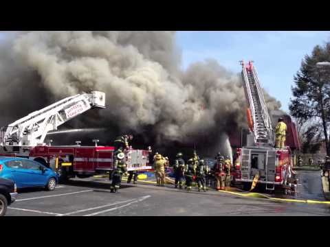 Horsham Office Bldg Fire 4/7/13