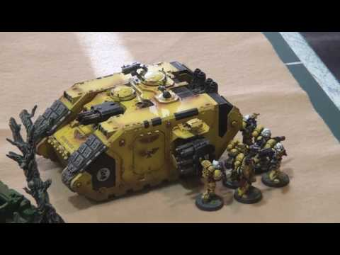 Part 1 of 2 - 1250 point Annihilation mission between the loyal forces of