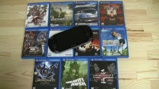 Top 12 PS Vita Games in 15 Minutes - Best Sony PS Vita Games