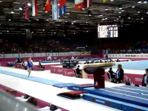 Anastasia GRISHINA RUS Senior Qualification, European Gymnastics Championships 2012 Vault 2
