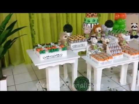 Decoração de festa infantil Safári