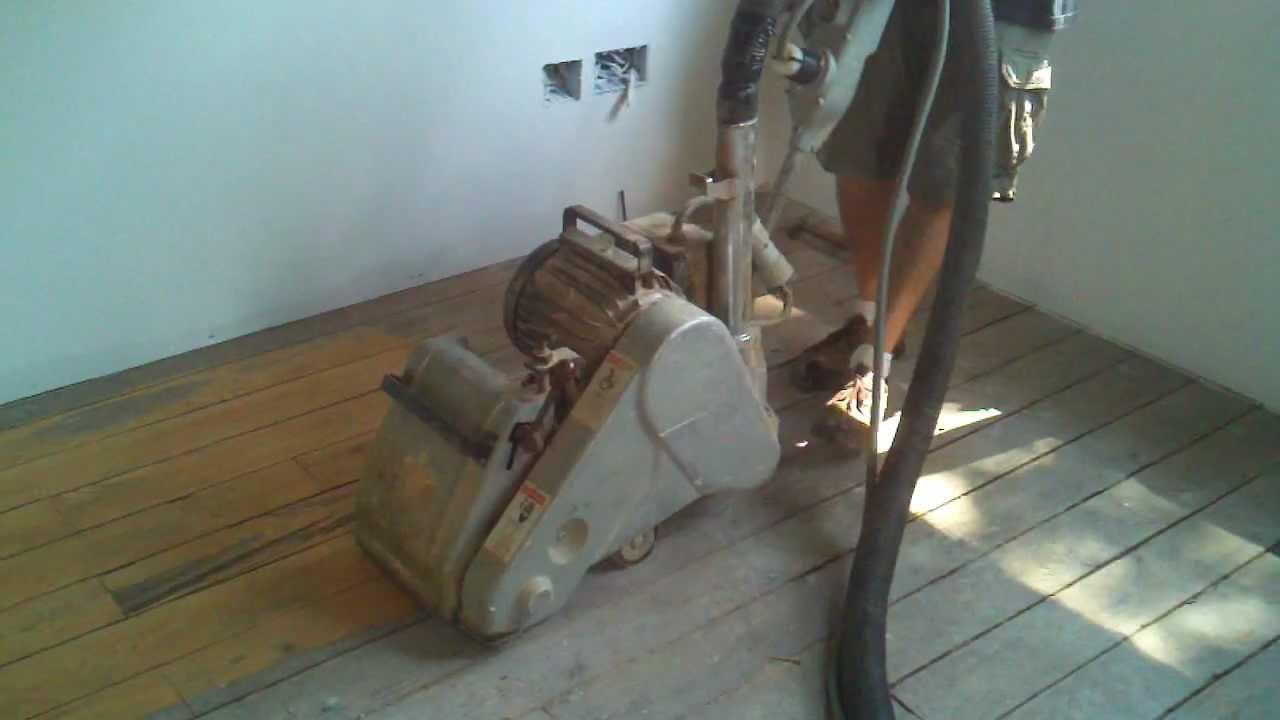 clarke sanding machine