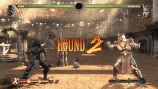 Mortal Kombat gameplay noob vs shao kahn