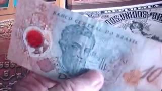 CEDULA RARA DE 10 REAIS PLASTICO COMEMORATIVA  ANO 2000 QUANTO VALE ? veja este video