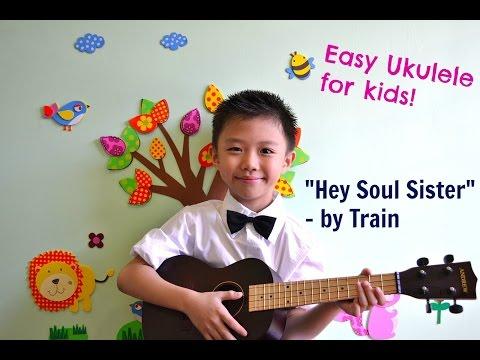 Ukulele for Kids : Hey, Soul Sister (Easy Ukulele Lesson)