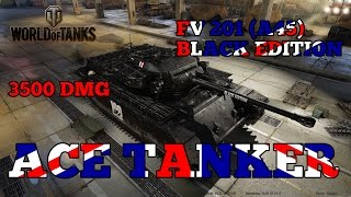 World of Tanks // FV201 (A45) Black Edition // Ace Tanker // Xbox One