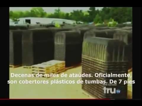 FEMA cientos de miles de ataúdes ¿para que? (subtitulado español)