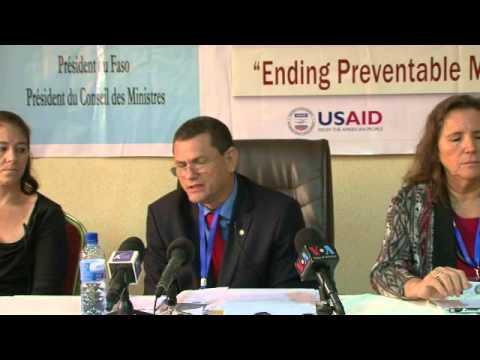Conférence de presse - 30 juillet 2015 - Ouagadougou