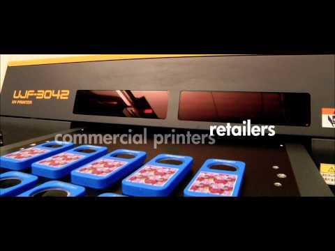 UJF 3042 UV Inkjet Printer