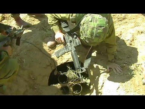 Les tunnels, enjeu crucial de la guerre de Tsahal dans la bande de Gaza