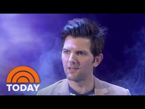 Adam Scott's Hot Tub Interview | TODAY