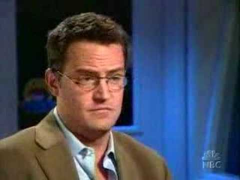 Matthew Perry - Friends Interview Video