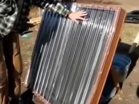 Tips Build your own solar hot water heater