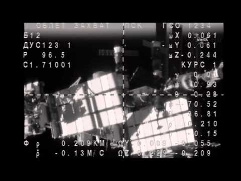 ISS Expedition 39/40 Soyuz TMA-12M Docking With The Space Station