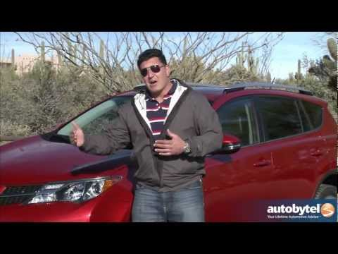 2013 Toyota RAV4 Test Drive & Crossover SUV Video Rev