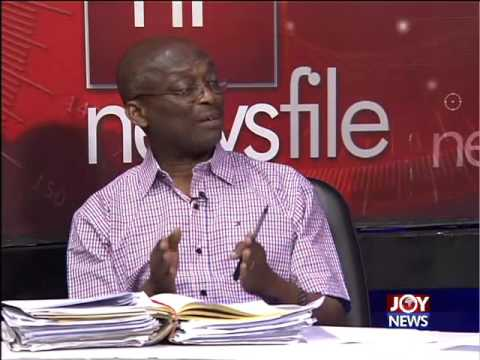 NPP headquarter raid - Newsfile on Joy News (28-11-15)