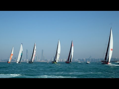 Live Recording - In-Port Race Abu Dhabi | Volvo Ocean Race 2014-15