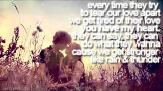 Watch Leona Lewis Rain  Thunder video