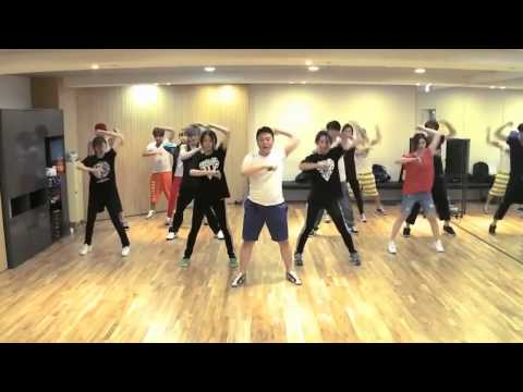 PSY Gangnam Style mirrored Dance Practice