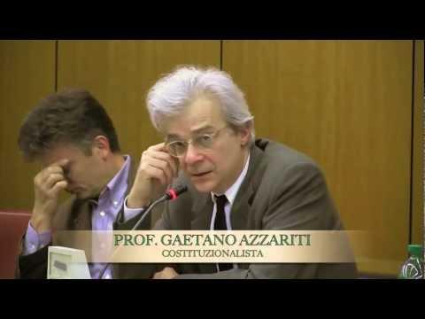 Per uno statuto  democratico dei partiti (3) – Prof. Gaetano Azzariti