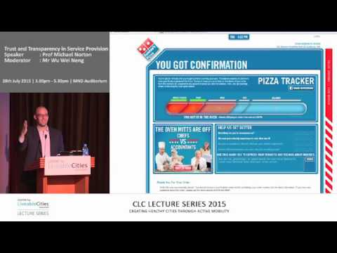 Domino's Pizza's pizza tracker, a compelling case of transparency