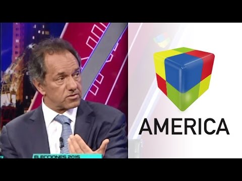 Daniel Scioli presentó a parte de lo que sería su futuro gabinete