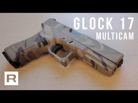 Glock 17 Multicam - Green gas - Army Armament